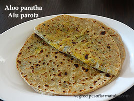 aloo parota recipe