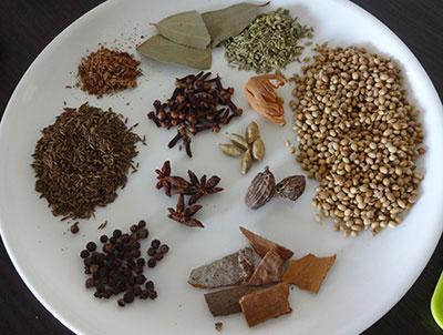 how to prepare garam masala powder at home