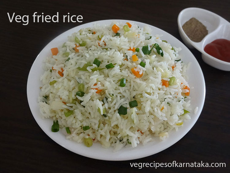 how to cook vegetable fried rice at home