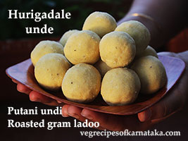 fried gram laddu