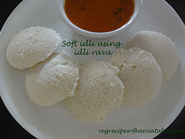 soft idli using idli rava