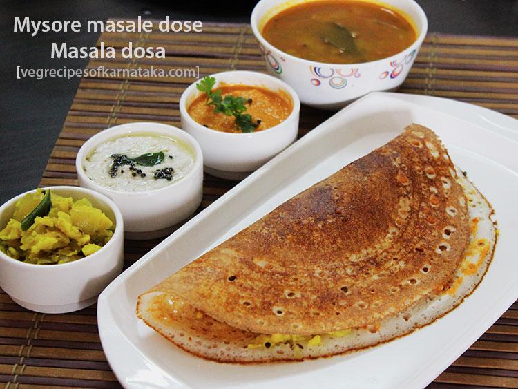 Indian Mysore Masala Dosa Recipe - matrixerogon