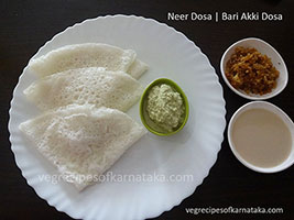 neer dosa recipe