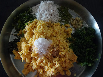 all ingredients for nuchinunde or nucchinunde