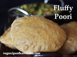 poori or puri recipe