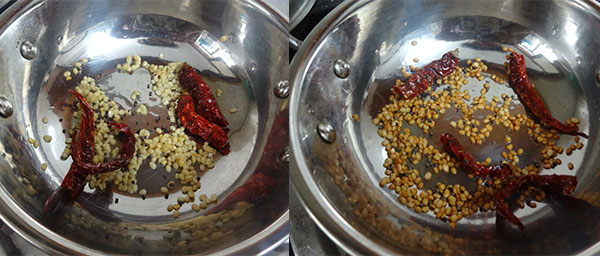 frying masala for watermelon rind chutney